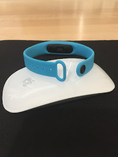 MyVlog Foto -  Watch Strap for Xiaomi Miband 2  -  BLUE