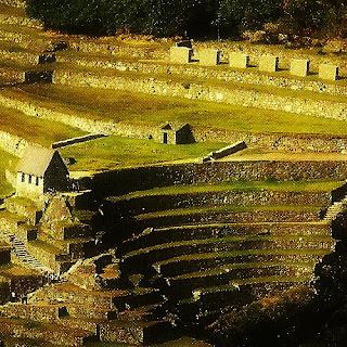 Engenharia Inca: Cabana do Guardião e  Terraços Agrícolas, em Machu Picchu