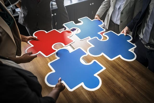 piece of puzzle outsourcing damage business bootstrapping budget