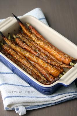Roasted rosemary carrots (AIP)