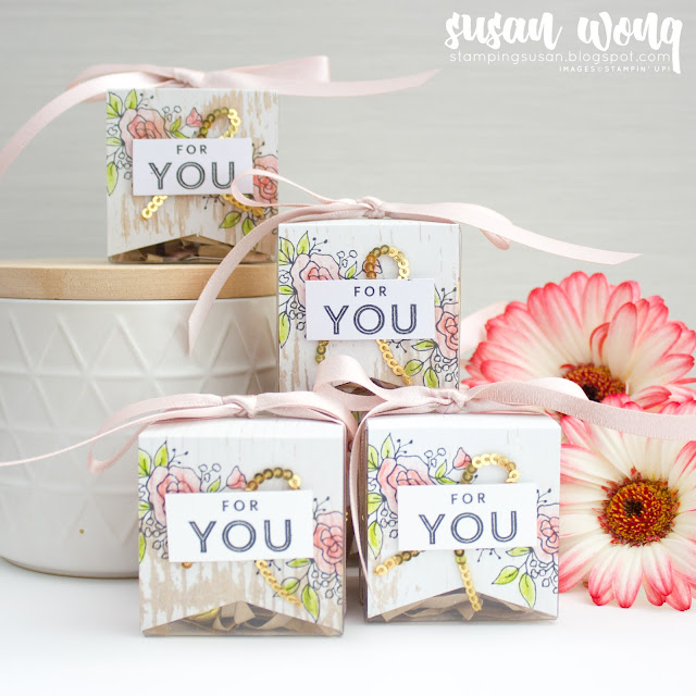 Easy Easter Treats with stamp set from the Lots of Happy Card Kit by Stampin' Up!  - Susan Wong