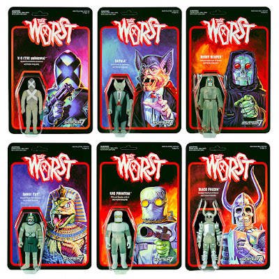 The Worst Glow Patrol ReAction Retro Action Figure Set by Super7
