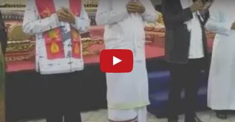 Video Kyai Yang Ceramah Di Gereja Dan Ucapkan 'Puji Tuhan' Ini Menuai Banyak Kontroversi