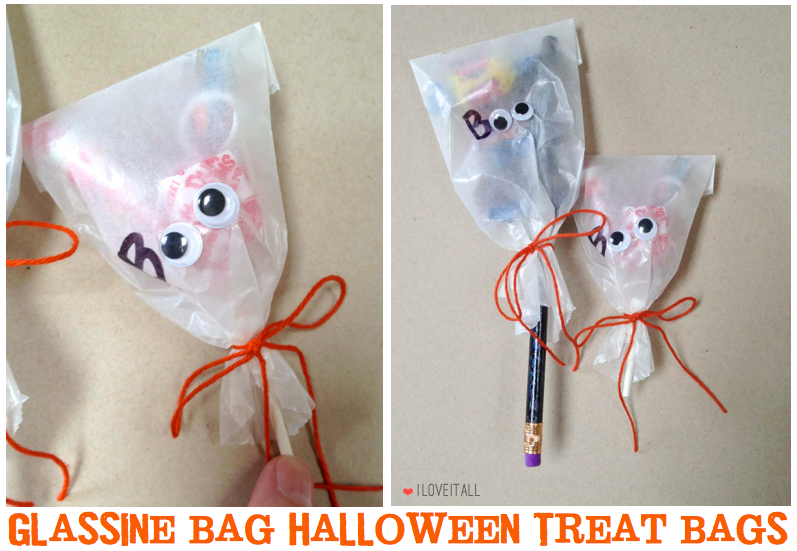 Halloween Treat Bags | iloveitallwithmonikawright.com   #halloween #treatbags
