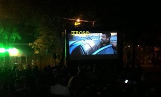 noleggio schermo per cinema