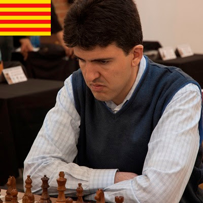 El ajedrecista GM Josep Manuel López