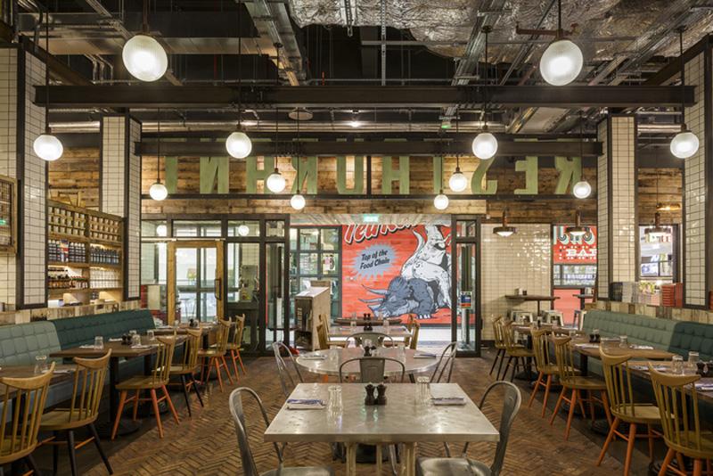 Los 27 mejores dise os de interiores de bares y - Decoracion de restaurantes rusticos ...