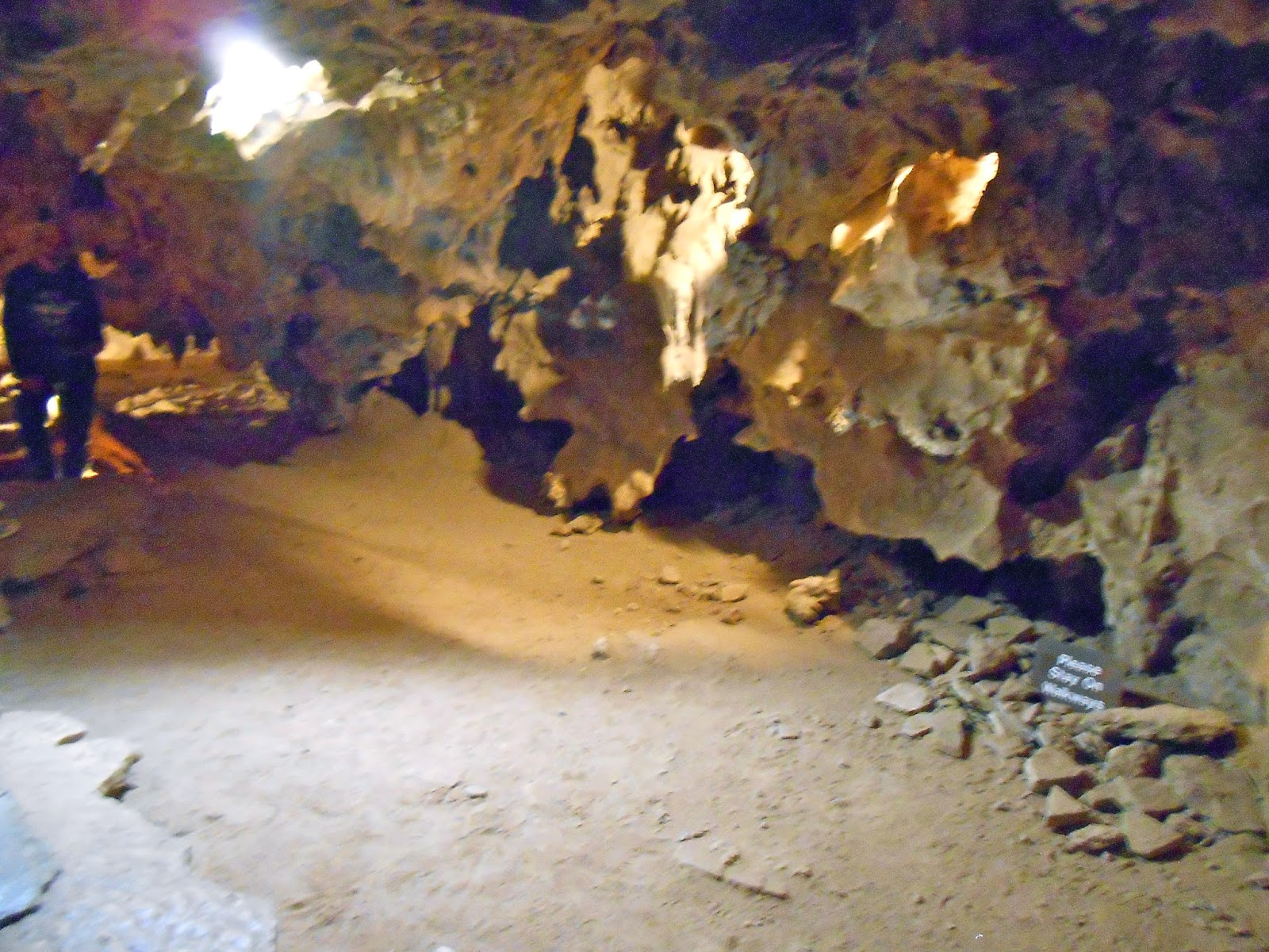 living room in colossal cave tucson arizona