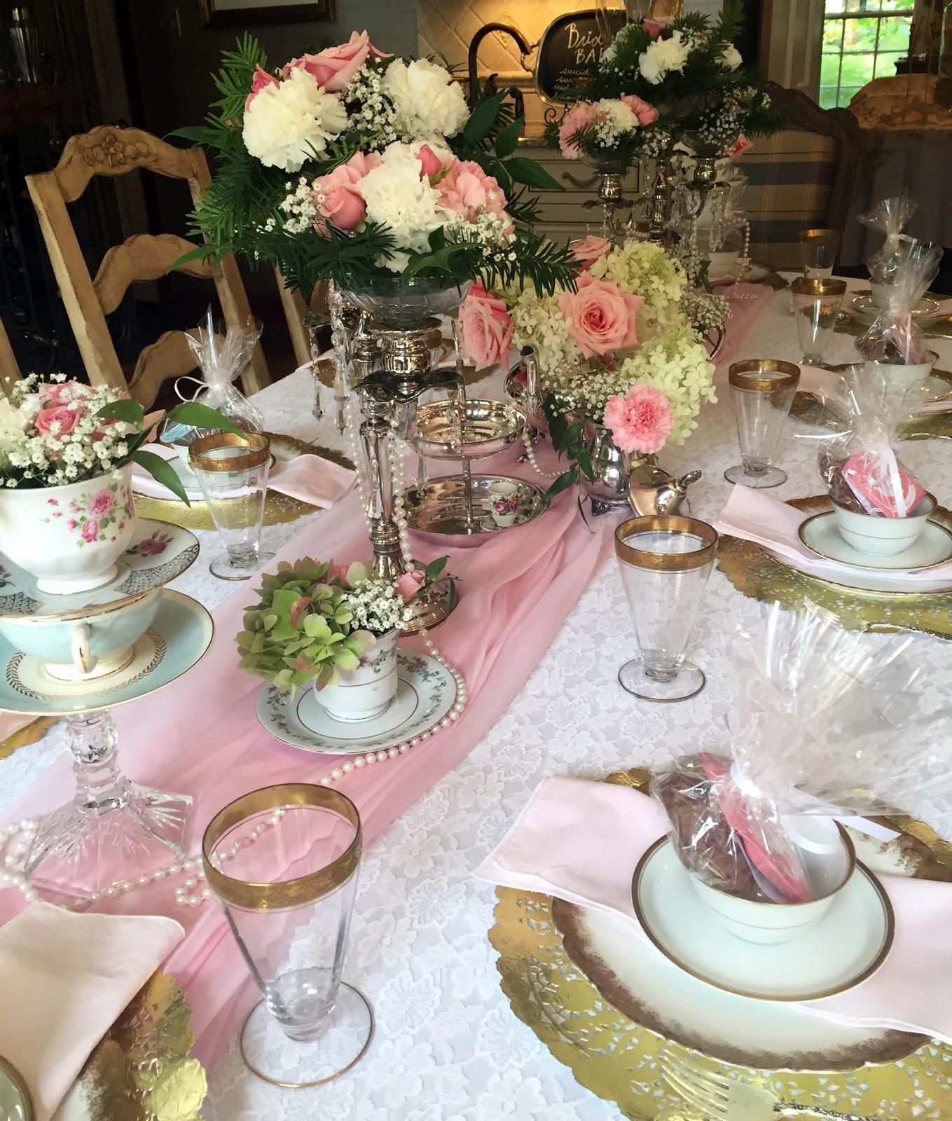 A Perfect Setting A Bridal Tea