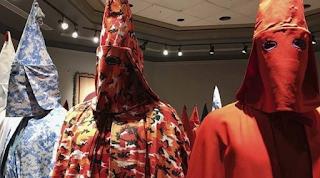 College: Pennsylvania Art show with KKK robes too disturbing for public