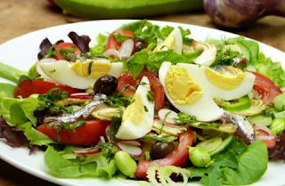 Salade Niçoise aux fèves