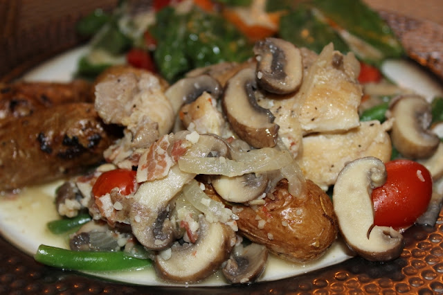 Front Range Fork And Cork: Braised Chicken With Mushrooms
