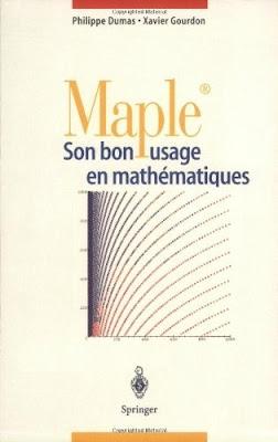 Télécharger Livre Gratuit Maple, Son bon usage en mathématiques pdf