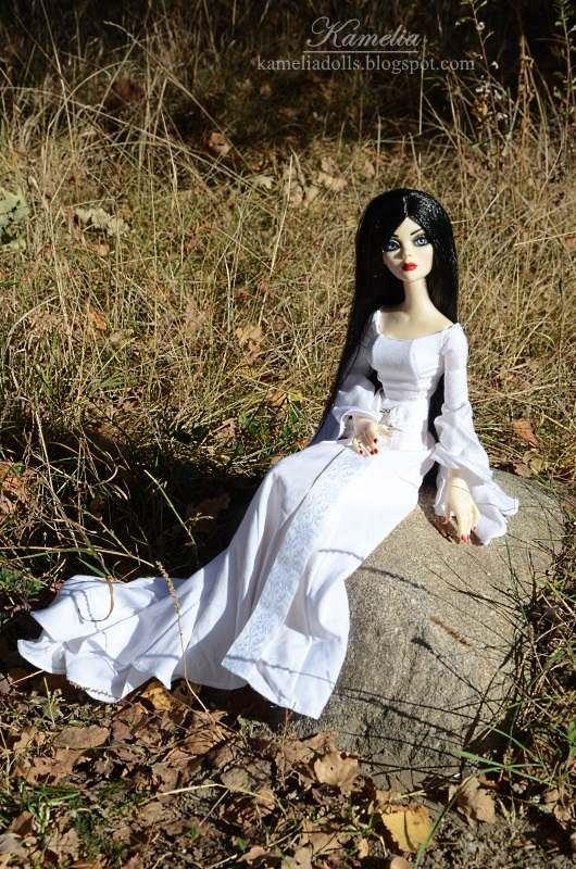 Celtic dress for Wilde Imagination doll