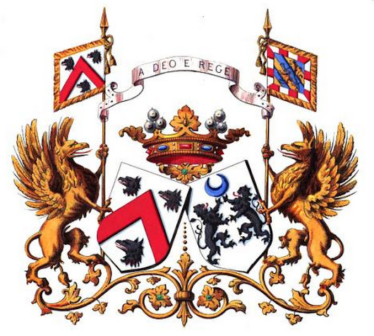 HANE-MARCHES : armorial des alliances de la noblesse belge