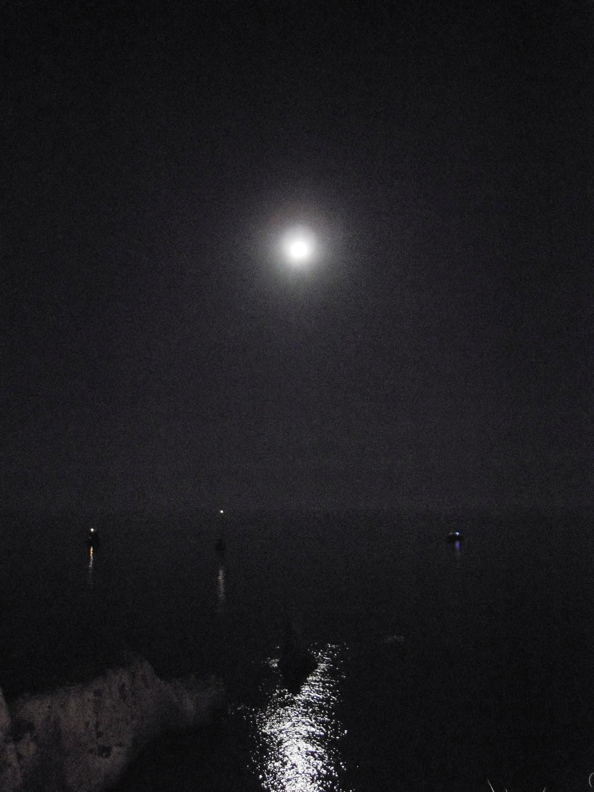 Frammenti Di Ponza Lo Spettacolo Della Luna Sul Mare