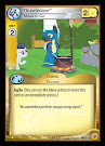 My Little Pony Thunderlane, Meals to Go Friends Forever CCG Card