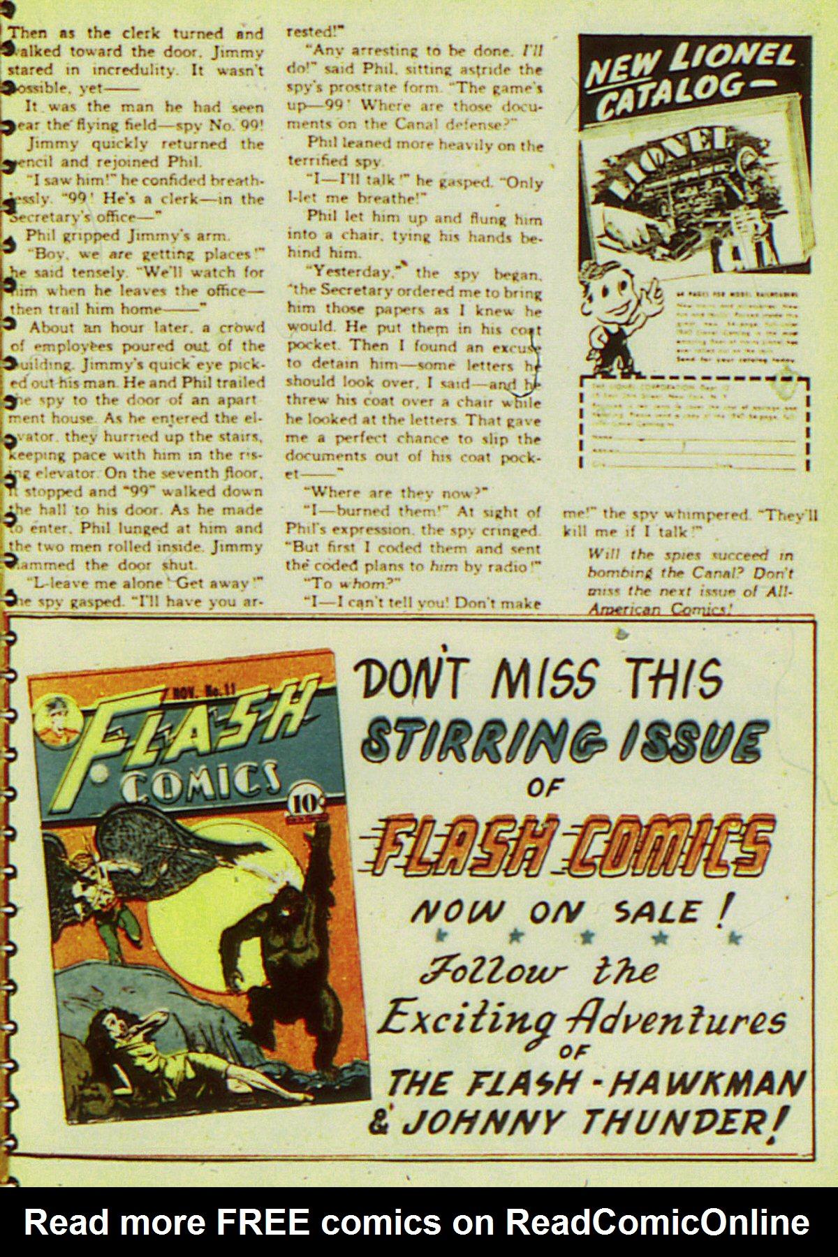 Read online All-American Comics (1939) comic -  Issue #20 - 56