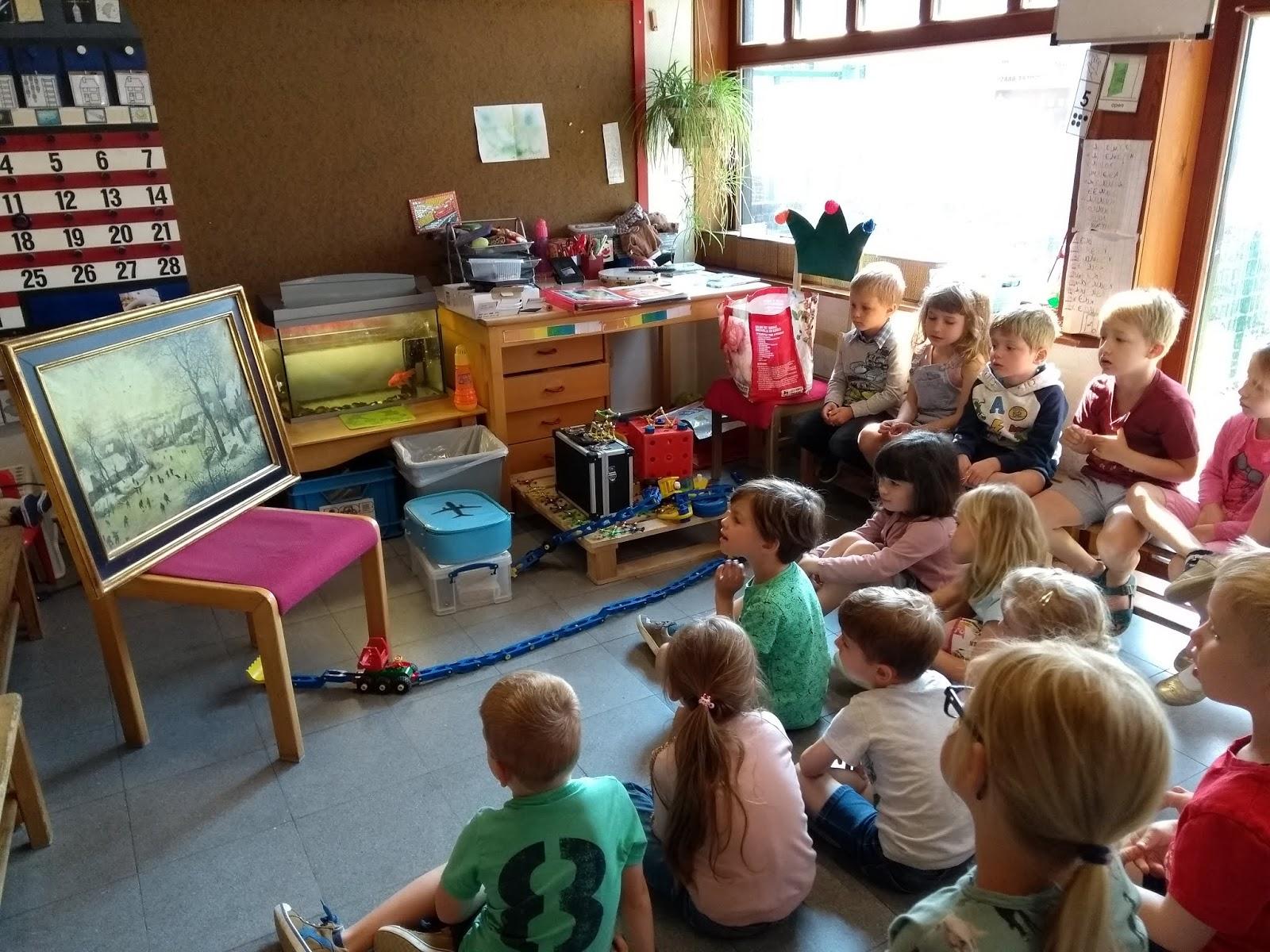 Beroemd Centrumschool Kuurne K2/3 C: Kunst in de klas ! @BM86