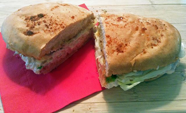 homemade sub sandwiches