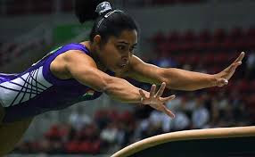 Indian Champ Dipa Karmakar at Summer Olympics 2016 Gymnastics event