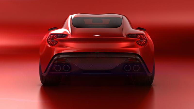 Aston Martin Vanquish Zagato 3