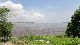 500 meters across the river is the other Congo