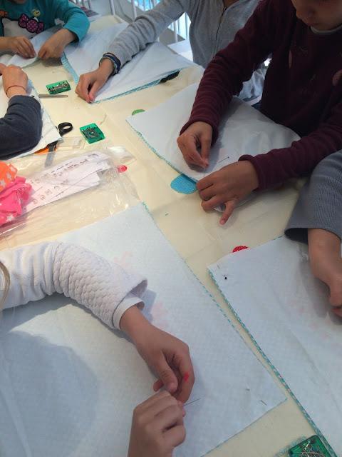 cours de couture enfant Toulouse Petit Pan Fabrique Bazar couture sac à tarte