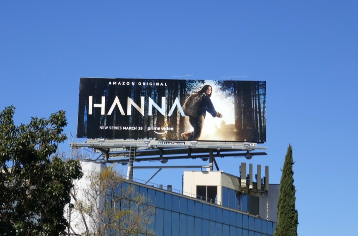 Hanna TV remake billboard