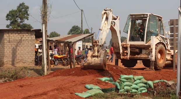TNI Bantu Bangun Kantor Pemerintahan di Afrika Tengah