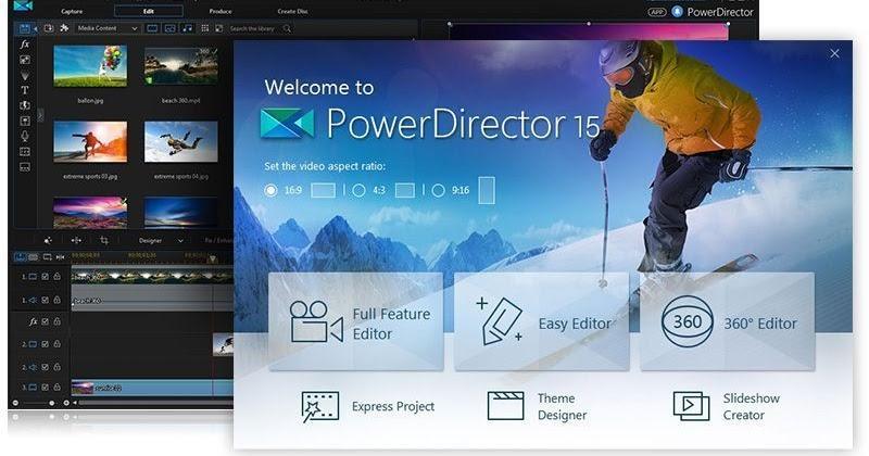 Download CyberLink PowerDirector Video Editor 4 10 5