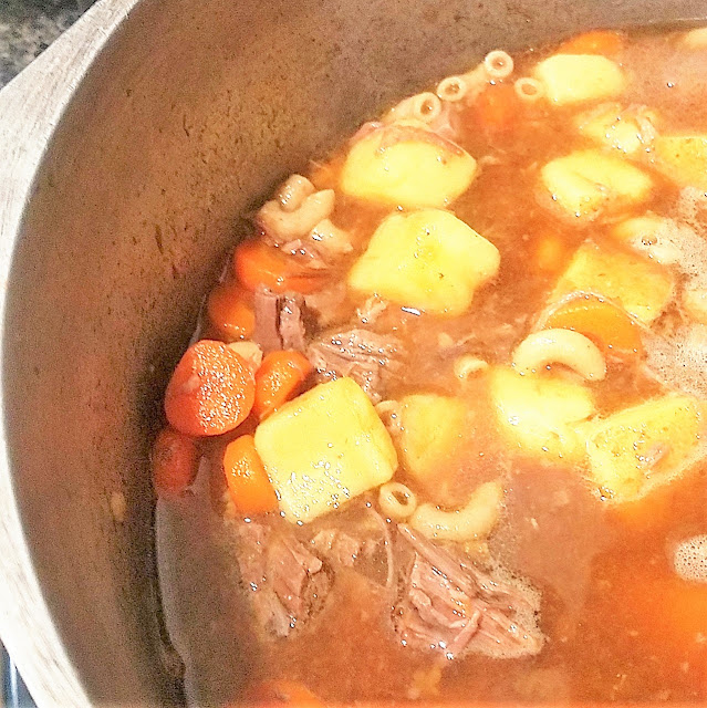 how to make beef soup from leftover roast