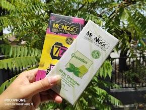 Menikmati Cokelat Monggo Greentea & Dark 77% Cocoa, Mantul!