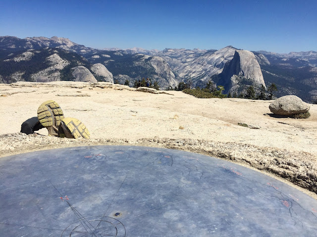 Half dome from Sentinel Dome