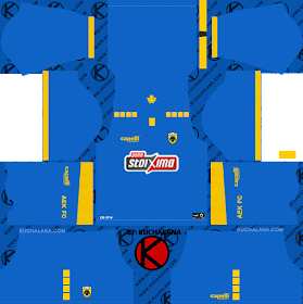 AEK FC Kits 2018/2019 - Dream League Soccer