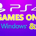 PS4 Games Will Be Playable on Windows Very Soon