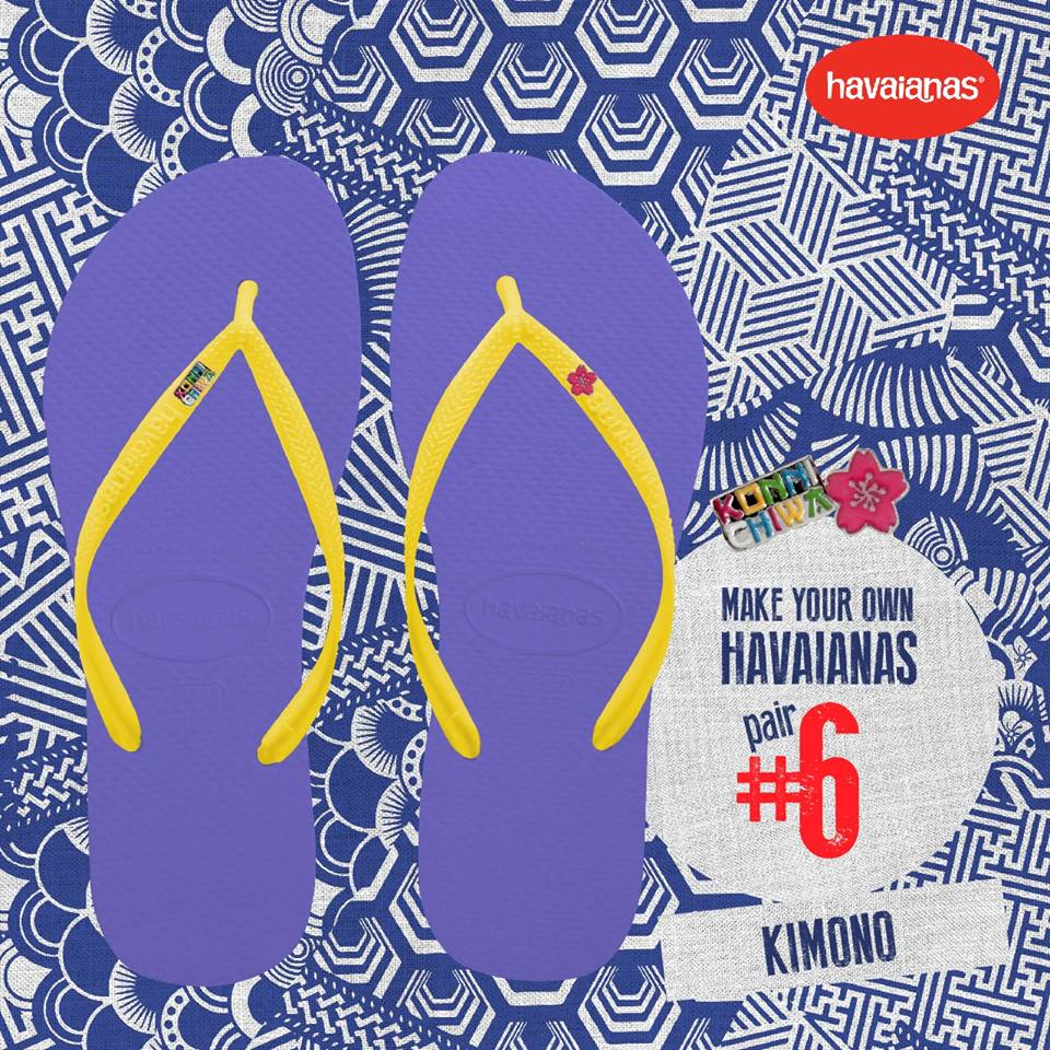 e4889ca7412eb Make Your Own Havaianas from April 22-24