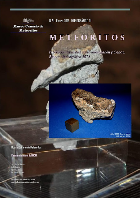Revista METEORITOS núm. 1.  Enero 2017.