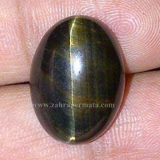 Batu Permata Black Tiger Eye - ZP 742