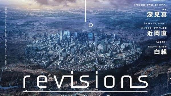 Revisions el Nuevo Anime de Netflix tiene fecha de Estreno para 2019