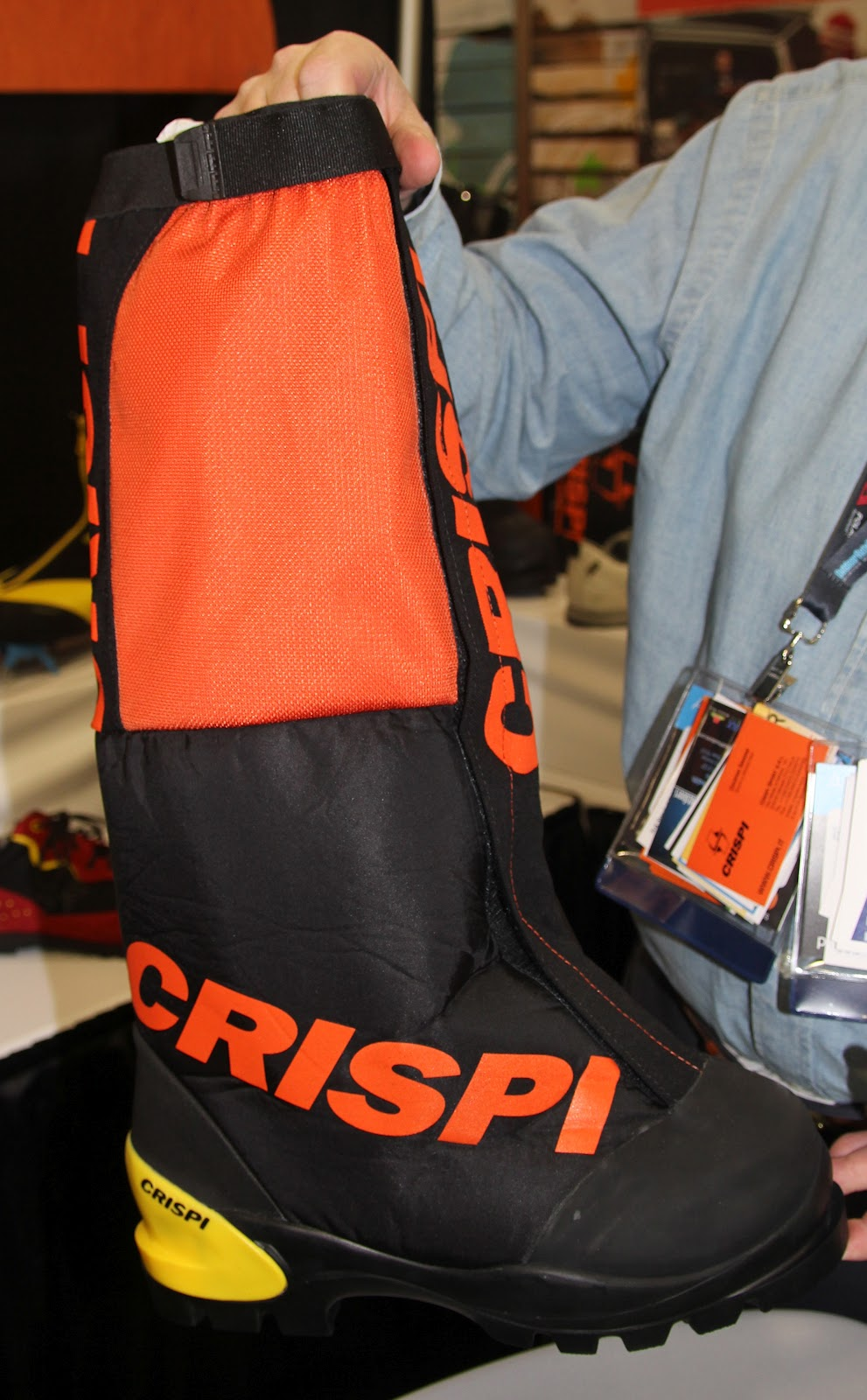 Crispi Fall 2012 Performance Footwear Hike Trek
