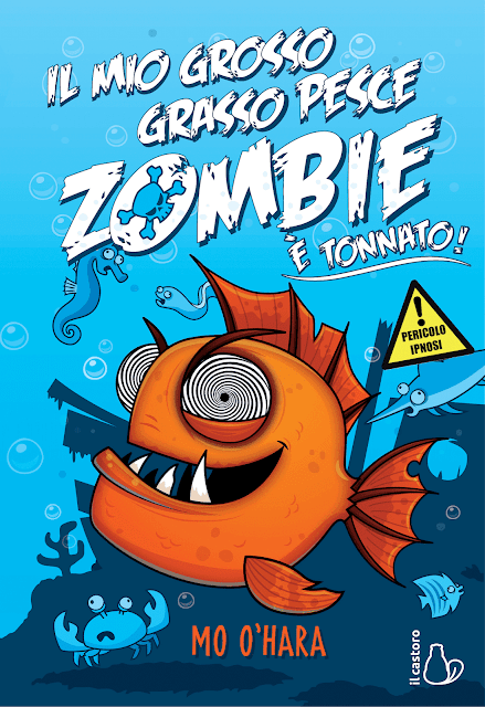 Il mio grosso grasso pesce zombie è tonnato: copertina