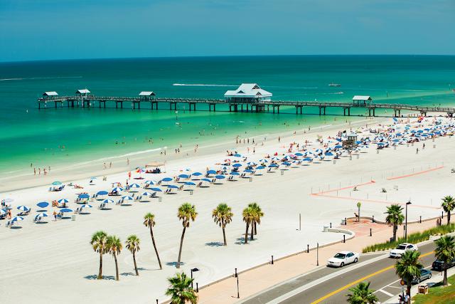 Clearwater Beach na Flórida
