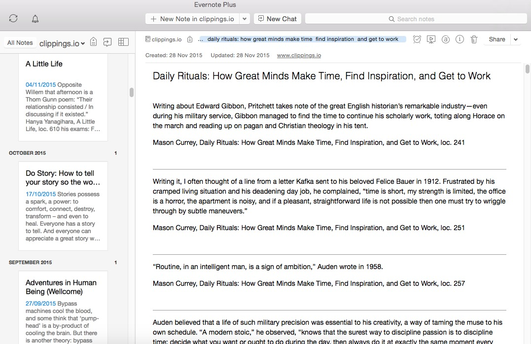 Reading tip: how to get your Kindle highlights and notes on your