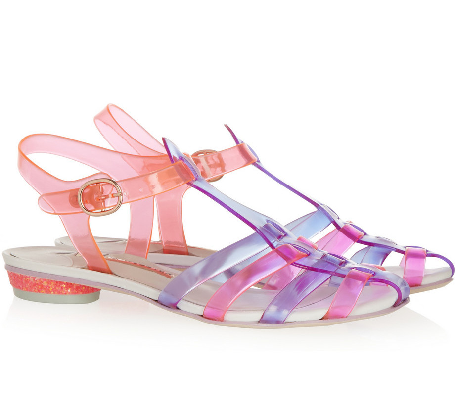 Sophia Webster, jelly sandals