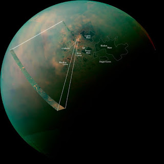 Bulan Titan planet Saturnus mirip dengan Bumi
