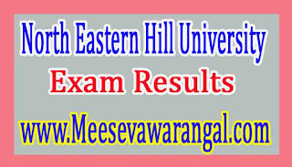 North Eastern Hill University B.Com Ist / IIIrd Sem 2016 Exam Results