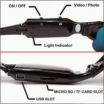 Jenis Produk   Kamera Spionase ( Spy Cam ) Model   Kacamata Warna   Hanya  Hitam Berat Kotor   0.25 Kg f3412c826b