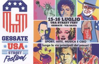 USA Street Fest 15 e 16 luglio Gessate 2016