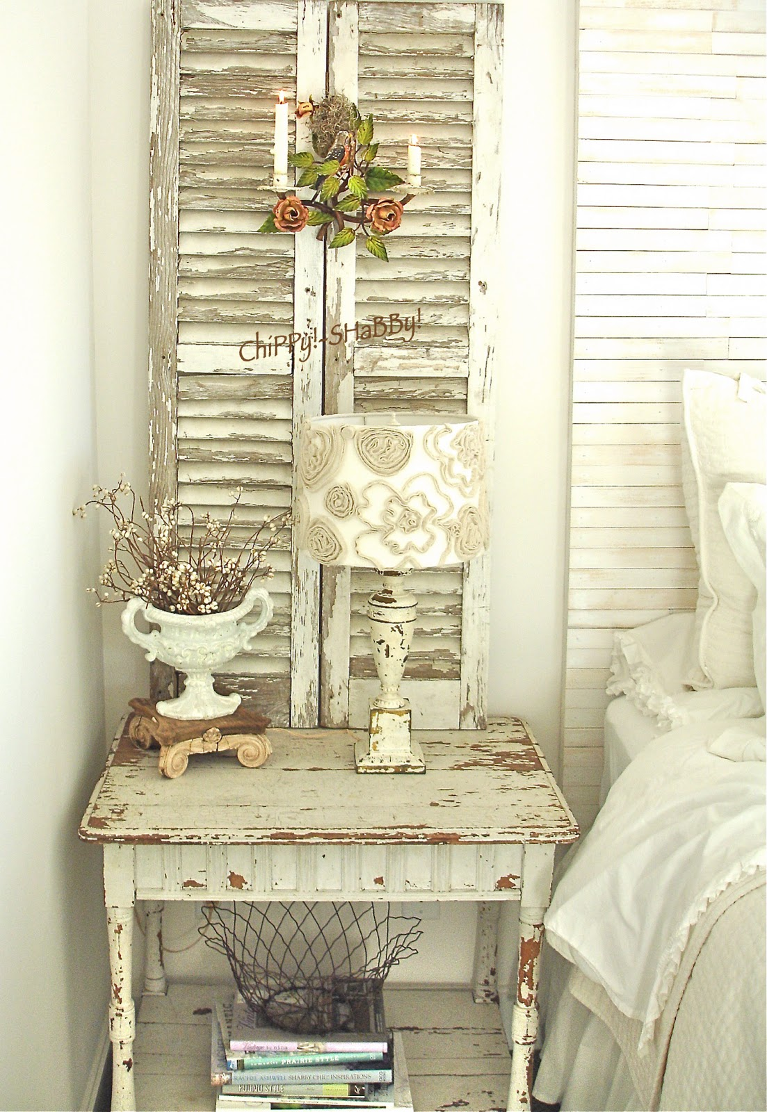Shutters Decor Living Room Shabby Chic